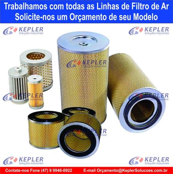 Filtro de Ar - Bomba Vácuo Becker / 909505